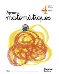 9788481949025: Aprenc Matematiques 4 Anys Voramar - 9788481949025