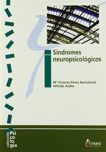 9788481962314: Sindromes Neuropsicologicos