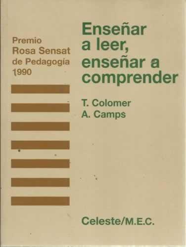 9788482110363: Enseñar a leer, enseñar a comprender