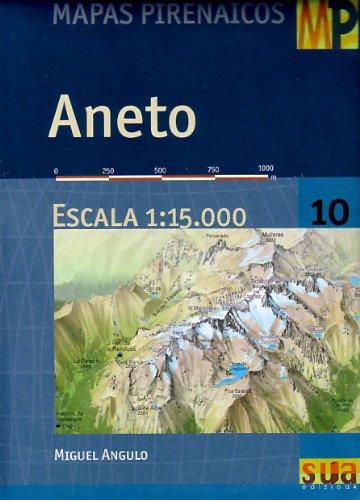 9788482161952: Aneto (mapa pirenaico). 1:15000