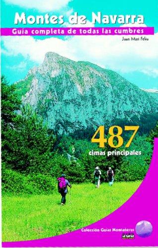9788482162546: Montes de Navarra (Guías montañeras)