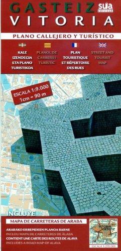 9788482163109: Gasteiz - Vitoria, plano callejero y turistico