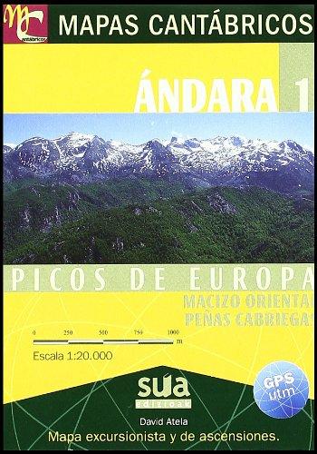 9788482164373: Mapas Cantábricos. Ándara 1