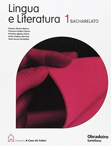 Lingua e literatura 1º.bach. -en galego-: Palacio Sanchez, Xose