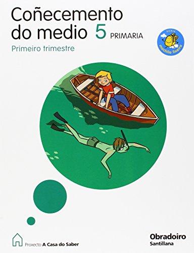 9788482249681: COÑECEMENTO DO MEDIO 5 PRIMARIA M. LIXEIRA A CASA DO SABER - 9788482249681