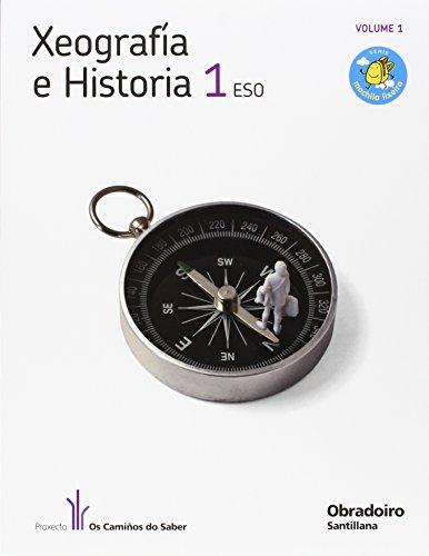 9788482249964: Xeografía E Historia 1 Eso Obradoiro