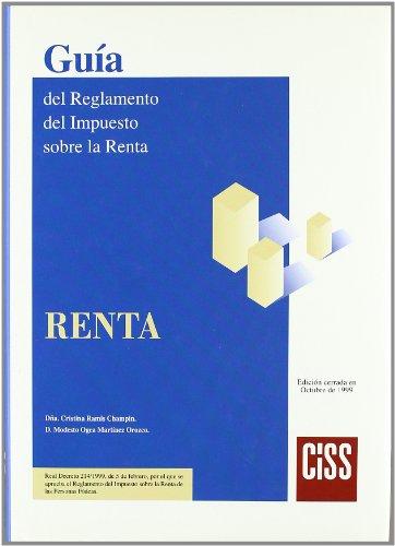 9788482352787: Guía del reglamento del impuesto sobre la renta