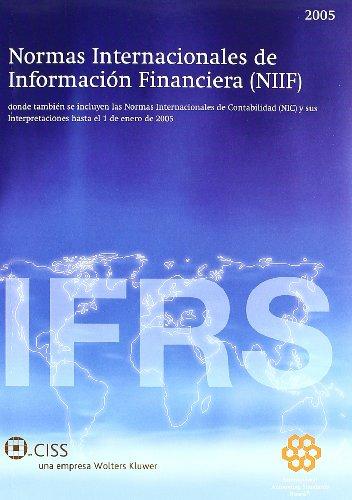 9788482354910: Normas Internacionales De Informacion Financiera 2005