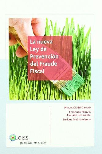9788482355405: La nueva Ley de Prevención del Fraude Fiscal