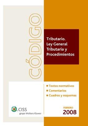 9788482356310: Código tributario: Ley General Tributaria y Procedimientos
