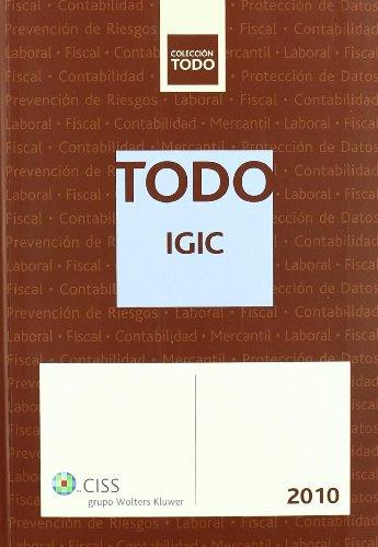 9788482359281: Todo IGIC 2010 (Colección TODO)