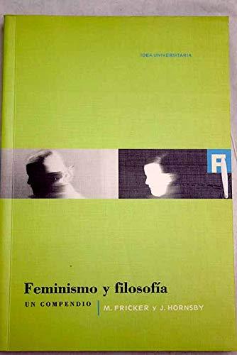 9788482362151: Feminismo y filosofia (Universitaria)