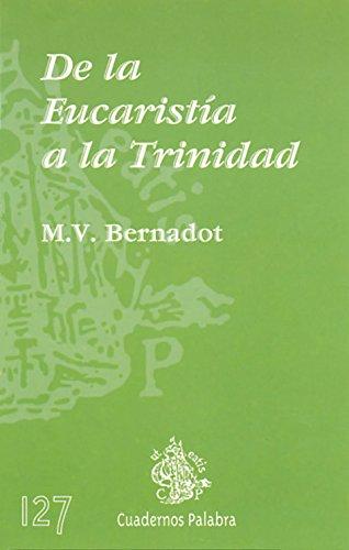 9788482393636: De la Eucaristía a la Trinidad