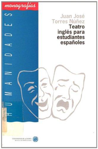 9788482400082: Teatro inglés para estudiantes españoles (Humanidades)