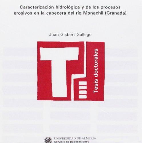 CARACTERIZACION HIDROLOGICA Y DE LOS PRO: GISBERT GALLEGO, JUAN