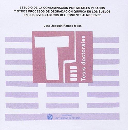 ESTUDIO DE LA CONTAMINACION POR METALES: RAMOS MIRAS, JOSE