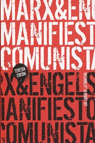 9788482550152: El manifiesto comunista