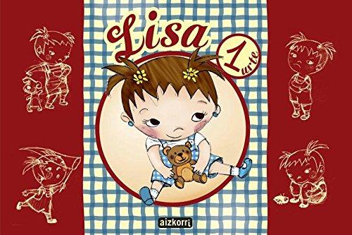 9788482636559: Lisa proiektua 1 urte. Ikaslearen liburua - 9788482636559