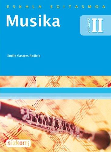 9788482637136: Musika II. Eskala Egitasmoa: DBHKo II - 9788482637136