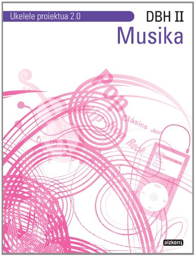 9788482637259: Musika DBH II. Ukelele proiektua 2.0 - 9788482637259