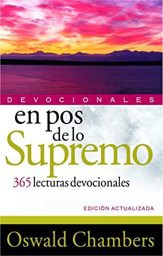 9788482675244: En pos de lo Supremo: 365 Lecturas devociones (Devocionales)