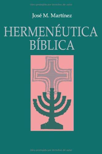 9788482675312: Hermenéutica Bíblica (Spanish Edition)