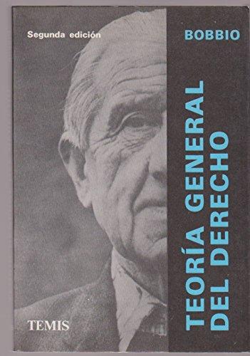 9788482725529: Teoria General del Derecho