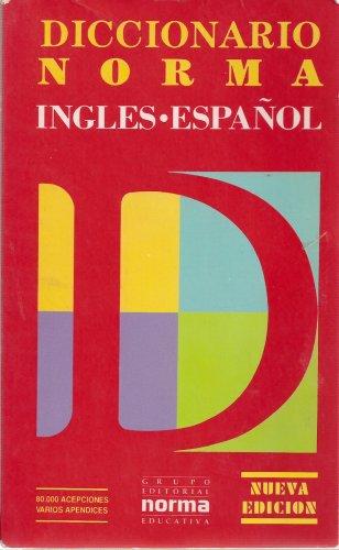 9788482763873: Diccionario Norma del Idioma Ingles, Ingles-Espanol, Spanish English