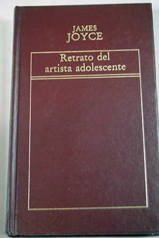9788482801216: Retrato Del Artista Adolescente
