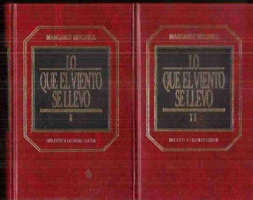 LO QUE EL VIENTO SE LLEVO, in two volumes [ Gone with the Wind ]: Mitchell, Margaret; Juan G. de ...