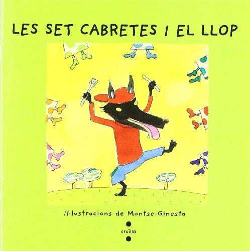 9788482868387: Les set cabretes i el llop (Vull llegir!)