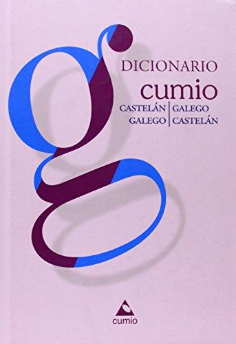9788482894485: Dicionario Cumio Bilingüe: Castelán-Galego/Galego-Castelán (Dicionarios Bilingües Cumio)