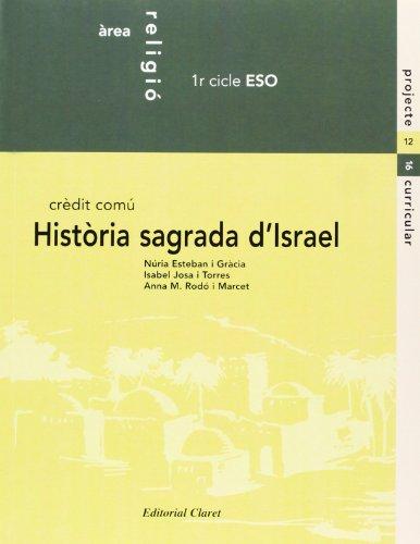 9788482973487: Eso 1/2 - Religio - Historia Sagrada D'israel