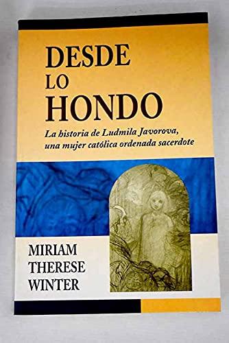 9788482975375: DESDE LO HONDO (CLARET)