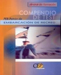 9788482997223: PER: PATRON DE EMBARCACION DE RECREO (COMPENDIO DE TEST)