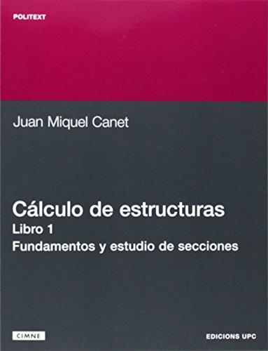9788483013991: Clculo de Estructuras I. Fundamento y Estudio de (Spanish Edition)