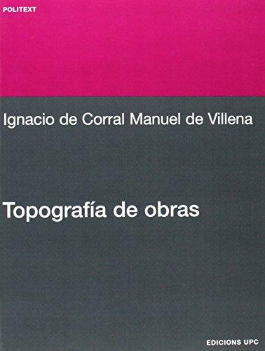 9788483015438: Topografa de Obras (Spanish Edition)