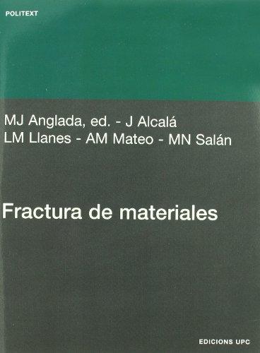 9788483015926: Fractura de materiales (Politext)