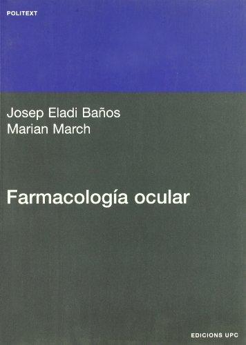 9788483016473: Farmacología ocular (Politext)
