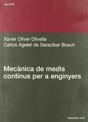 9788483017197: Mecnica de Medis Continus Per a Enginyers (Spanish Edition)