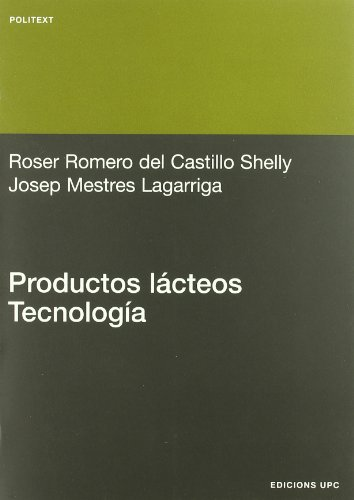9788483017456: Productos lácteos. Tecnología