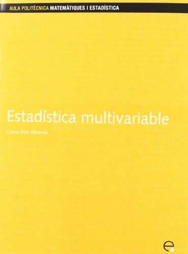 Estadstica Multivariable (Spanish Edition): Polo Miranda, Carlos;