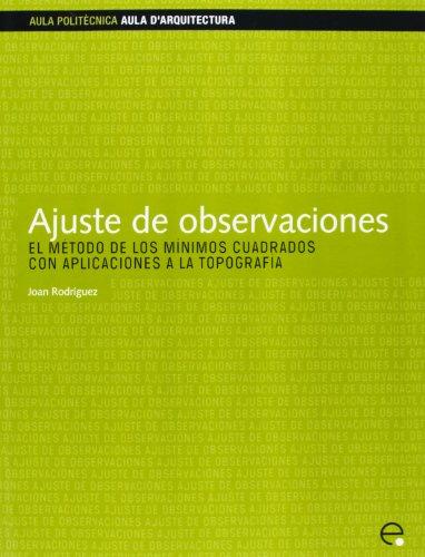 9788483018347: Ajuste de Observaciones (Spanish Edition)