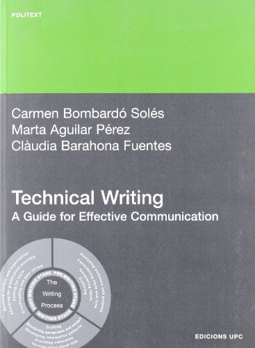 9788483019665: Technical Writing. A Guide for Effective Communication (Politext)