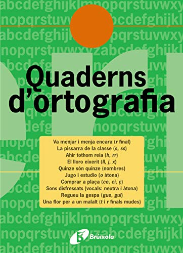 9788483047699: 5: Quadern D'ortografia/ Spelling Workbook (Quaderns D¦ortografia/ Spelling Notebooks) (Catalan Edition)
