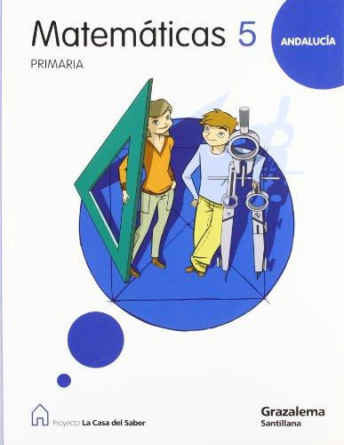9788483051276: MATEMATICAS 5 PRIMARIA LA CASA DEL SABER - 9788483051276