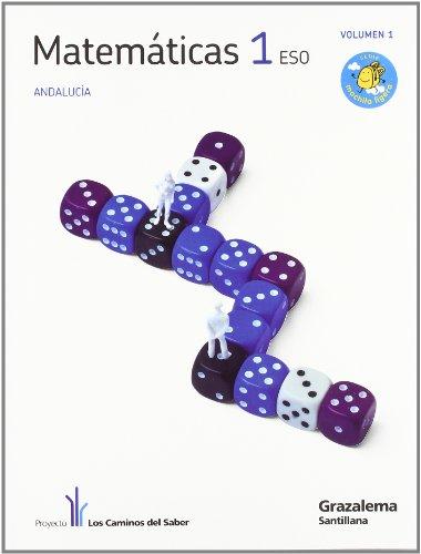 9788483052570: Proyecto los Caminos del Saber, matemáticas, 1 ESO (Andalucía)