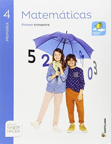 9788483056097: MATEMATICAS 4 PRIMARIA SABER HACER - Pack de 3 libros - 9788483056097