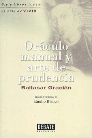 9788483063002: Oraculo manual y arte de prudencia