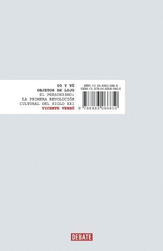 9788483066850: Yo y tu objetos de lujo. El Peronismo, la primera revolucion cultural del siglo XXI (Spanish Edition)